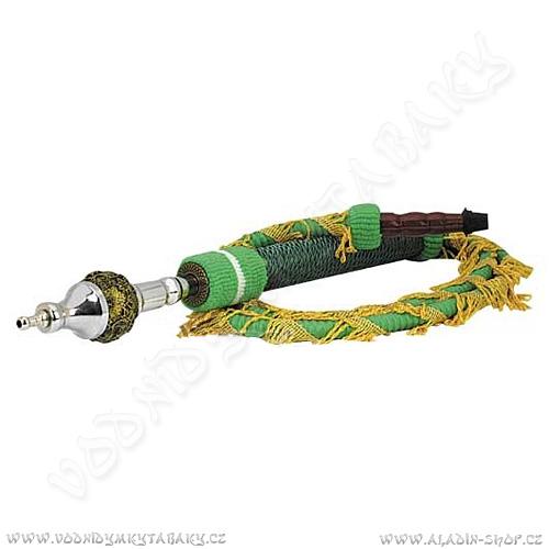 Hadice pro vodní dýmky Remo zelená
