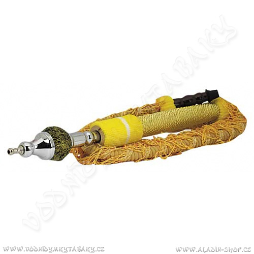 Hadice pro vodní dýmky Remo 180 cm žlutá