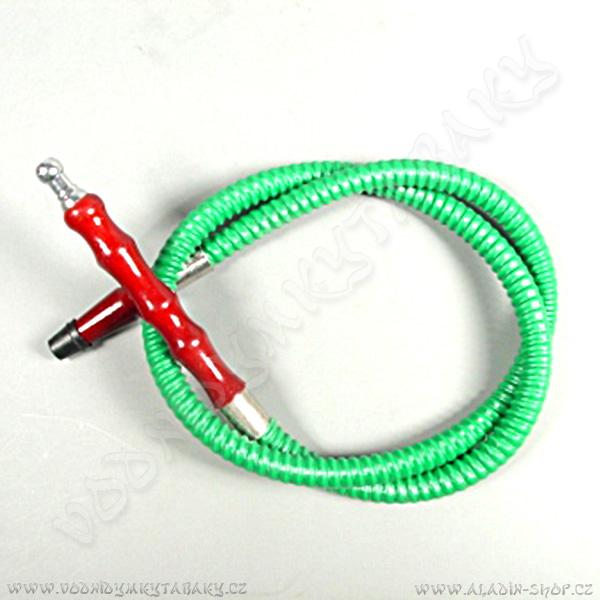 Hadice pro vodní dýmky Pumpkin 105 cm zelená