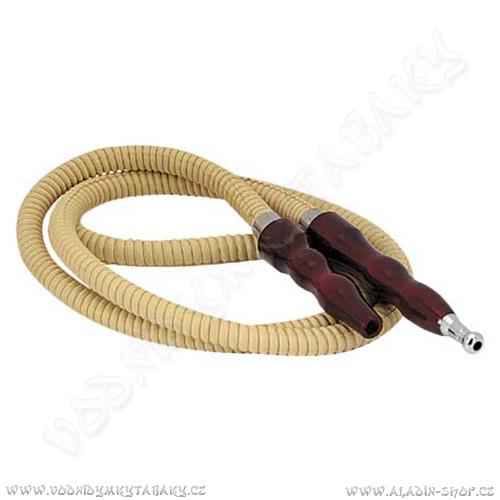Hadice pro vodní dýmky Remo 484 150 cm béžová