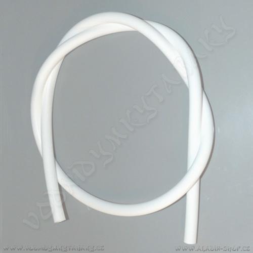 Hadice pro vodní dýmky silikonová 150 cm bílá