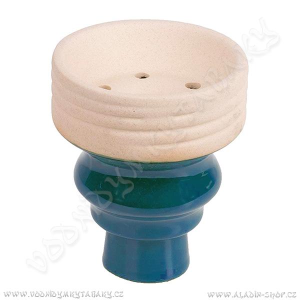 Korunka pro vodní dýmky MYA Bevel modrá