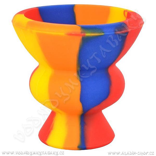 Korunka pro vodní dýmky silikonová barevná FDB12682