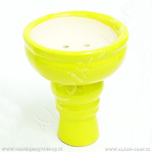 Korunka pro vodní dýmky Karnag žlutá velká