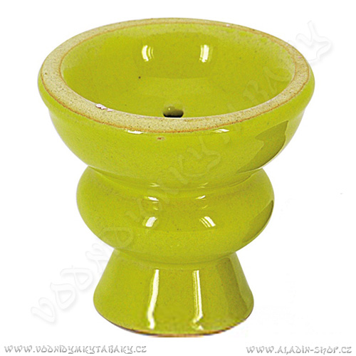 Korunka pro vodní dýmky Pumpkin 6 cm žlutá