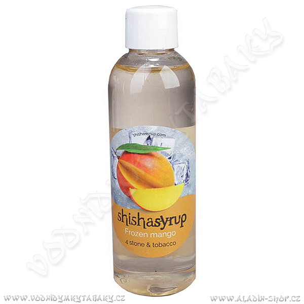 Melasa ShishaSyrup Ledové mango 100 ml