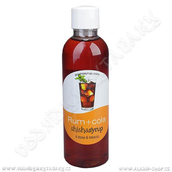 Melasa ShishaSyrup Rum s colou 100 ml