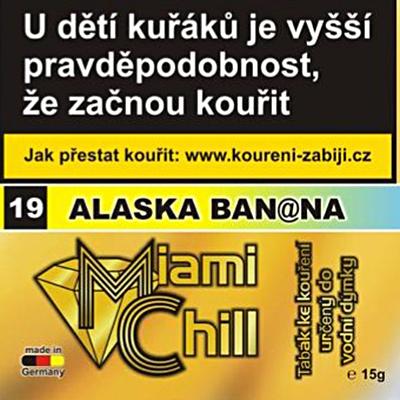 Tabák Miami Chill Alaska Banana 15 g