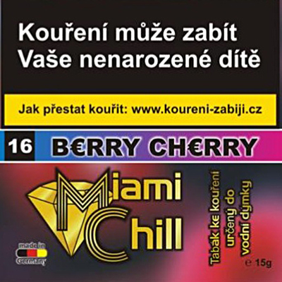 Tabák Miami Chill Berry Cherry 15 g
