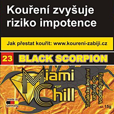 Tabák Miami Chill Black Scorpion 15 g