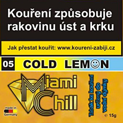 Tabák Miami Chill Cold Lemon 15 g