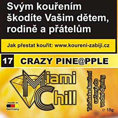 Tabák Miami Chill Crazy Pineapple 15 g