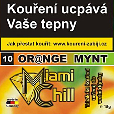 Tabák Miami Chill Orange Mynt 15 g