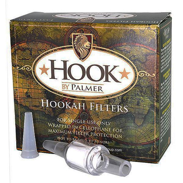 Náustek s filtrem Hook pro vodní dýmky