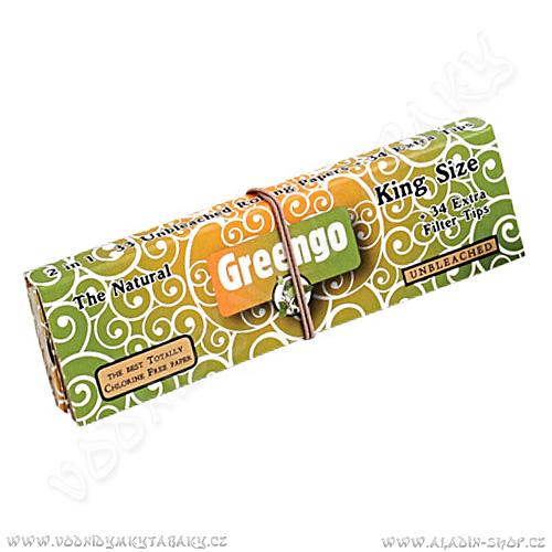 Cigaretové papírky GREENGO KS Slim + filtry