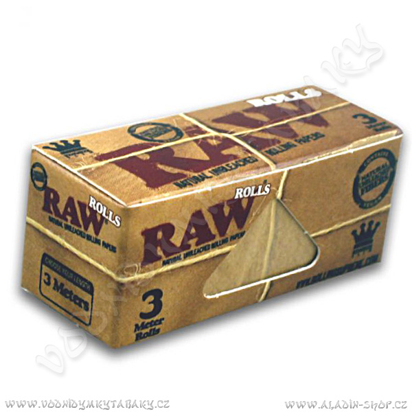 Cigaretové papírky RAW Roll Slim