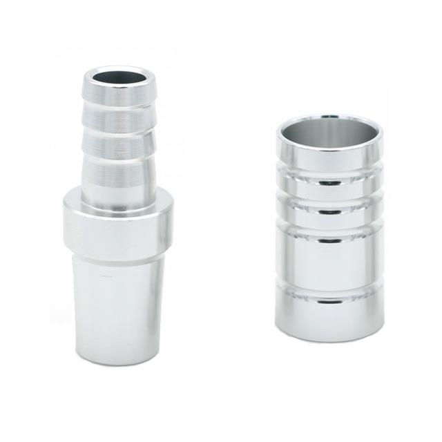 Redukce pro hadici Amy deluxe 18-8 hliník stříbrná