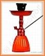 Vodní dýmka KING Gooza 23cm červená rubínová