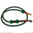 Hadice pro vodní dýmky Top Mark Kobra 160 cm zelená
