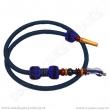 Hadice pro vodní dýmky Top Mark Kobra 180 cm modrá