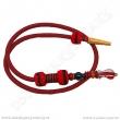 Hadice pro vodní dýmky Top Mark Kobra 180 cm červená