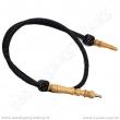 Hadice pro vodní dýmky Top Mark Ansa 170 cm černá