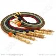 Hadice pro vodní dýmky Aladin Habiba 140 cm tyrkysová