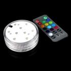 LED světlo pro vázu 7 cm s dálkovým ovládáním