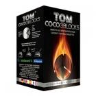 Uhlíky do vodní dýmky Tom Coco 1 kg 3 Block