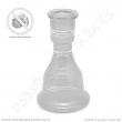 Váza pro vodní dýmky Top Mark 30 cm Fateh bílá