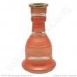 Váza pro vodní dýmky Top Mark 26 cm Heket oranžová