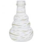 Váza pro vodní dýmky Aladin Lagos 24 cm bílá
