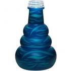 Váza pro vodní dýmky Aladin Lagos II 24 cm modrá