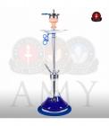 Vodní dýmka AMY Alu Deluxe 066-01 alu blue