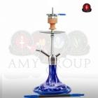 Vodní dýmka AMY Little Feather SS11 62 cm - blue