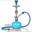 Vodní dýmka Aladin Koufy 56 cm tyrkysová