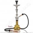 Vodní dýmka Aladin Loop 70 cm černo/zlatá