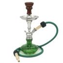 Vodní dýmka Aladin Minimi 36 cm zelená