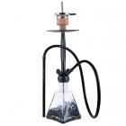 Vodní dýmka Amy Aero-X Klick I 70 cm black - RS black powder