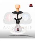Vodní dýmka Amy Crazy Dots 760 clear RS Black Powder
