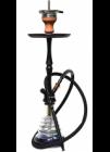 Vodní dýmka Hookah Flame HF10 Elox Cobra 61 cm černá