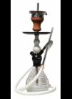 Vodní dýmka Hookah Flame HF11 Elox Helin 42 cm bílá