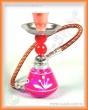 Vodní dýmka mini 17 cm růžová