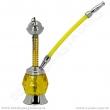 Vodní dýmka mini 20 cm žlutá