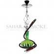 Vodní dýmka Sahara Smoke Candy Stripe zelená 60 cm