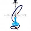 Vodní dýmka Sahara Smoke Bubble modrá 60 cm