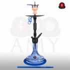 Vodní dýmka AMY Alu Claw 085-01 blue RS black