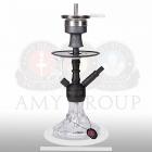 Vodní dýmka Amy Alu Brilli S 107.03 black powder clear