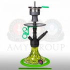 Vodní dýmka Amy Alu Brilli S 107.03 black powder green
