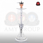 Vodní dýmka AMY Alu-X 065 80 cm alu clear
